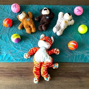 Assorted puppy/dog toys